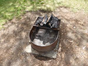 Super clean fire pit!