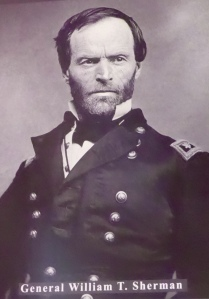 After all I've heard about General Sherman, I was surprised he was such a nice looking man!