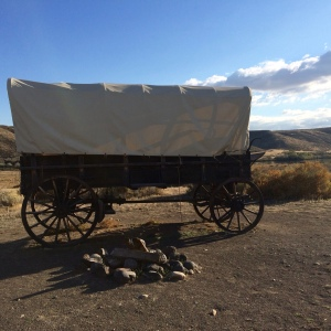 Three Island Crossing was one place Oregon Trail emigrants crossed the Snake River.