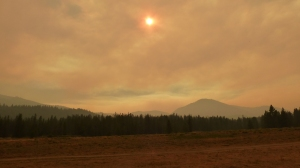 Dense smoke from nearby fires in 2013!